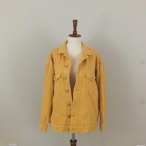 H&M &Denim Yellow Jacket